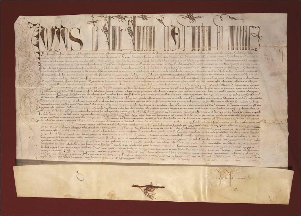 Bula Papal Siglo XVI