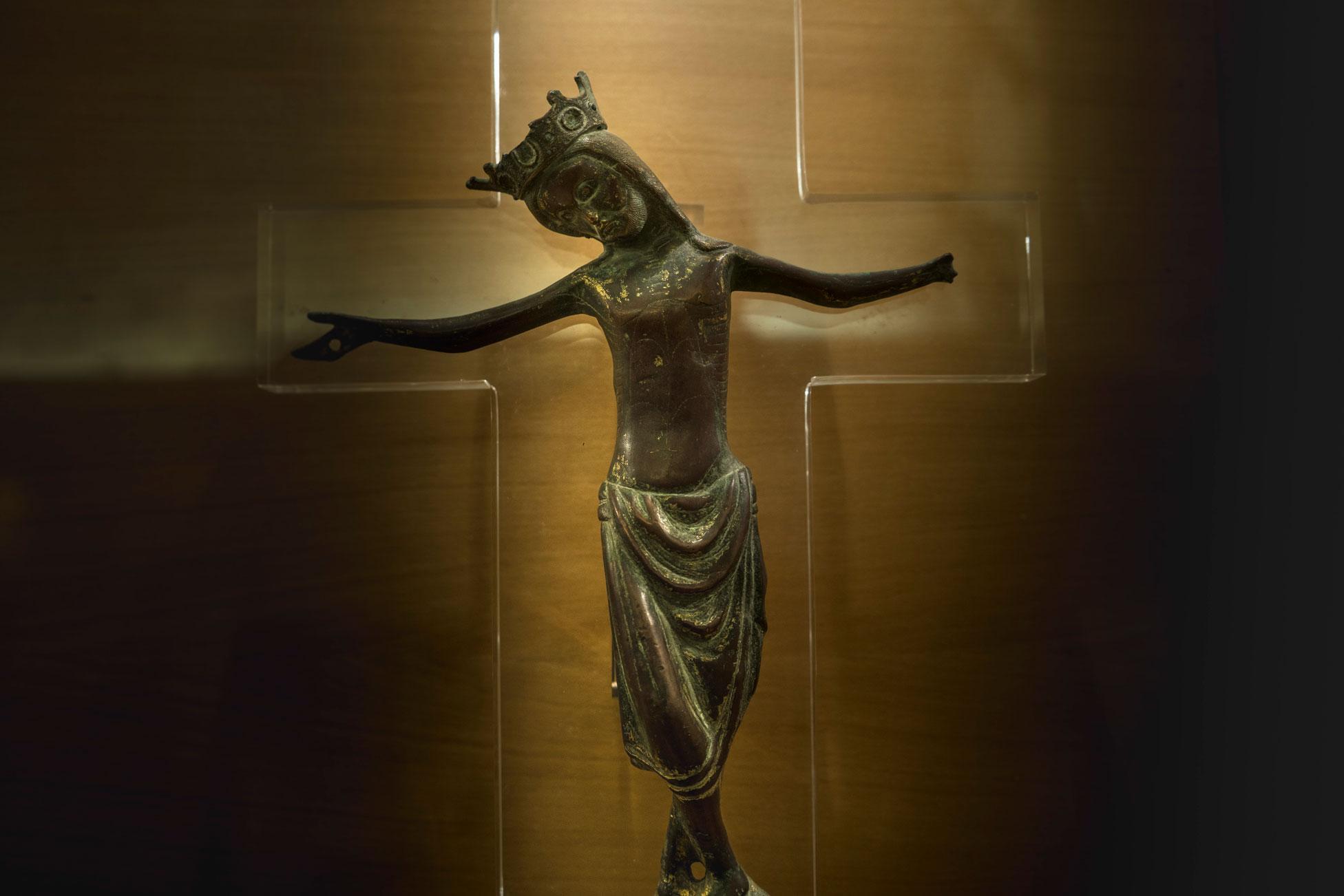 Cristo románico sglo XIII