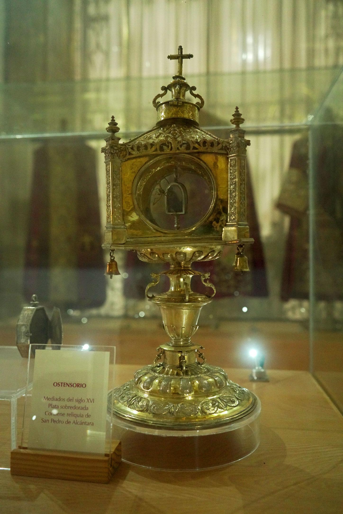Reliquia San Pedro de Alcántara