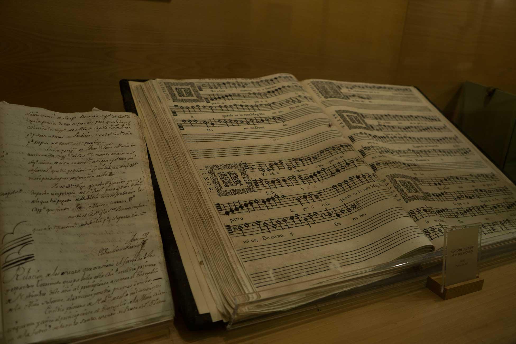 Liturgical cantoral