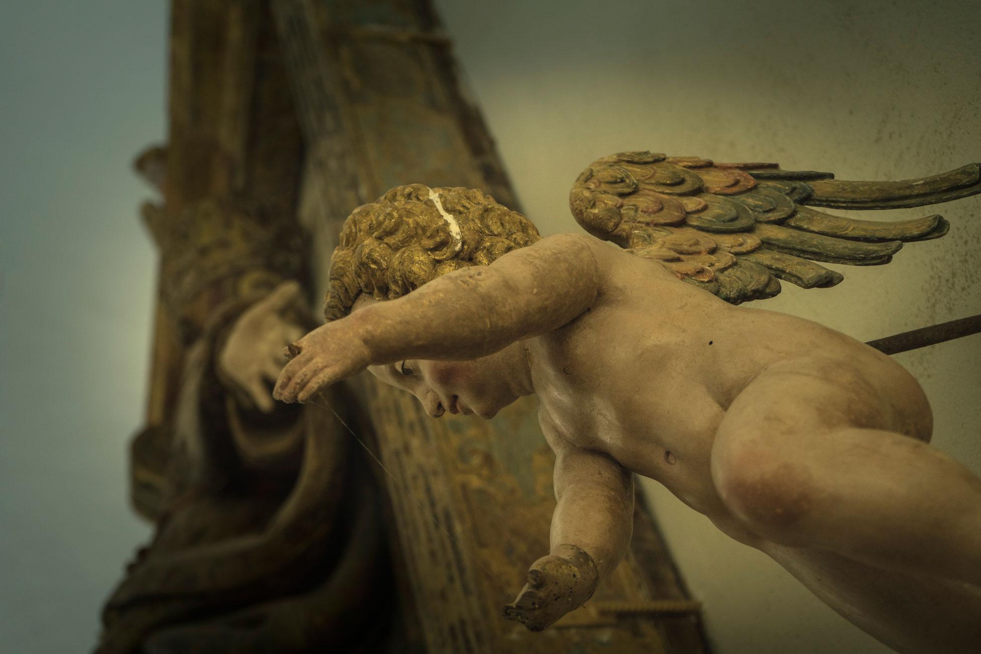Nossa Senhora dos Anjos (detalhe)