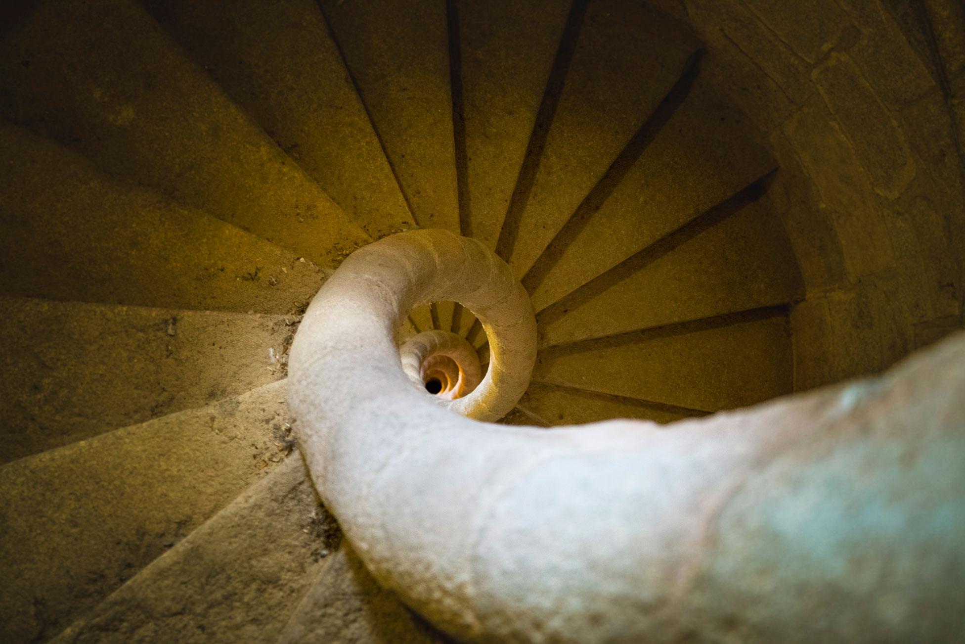 Campanário escadaria
