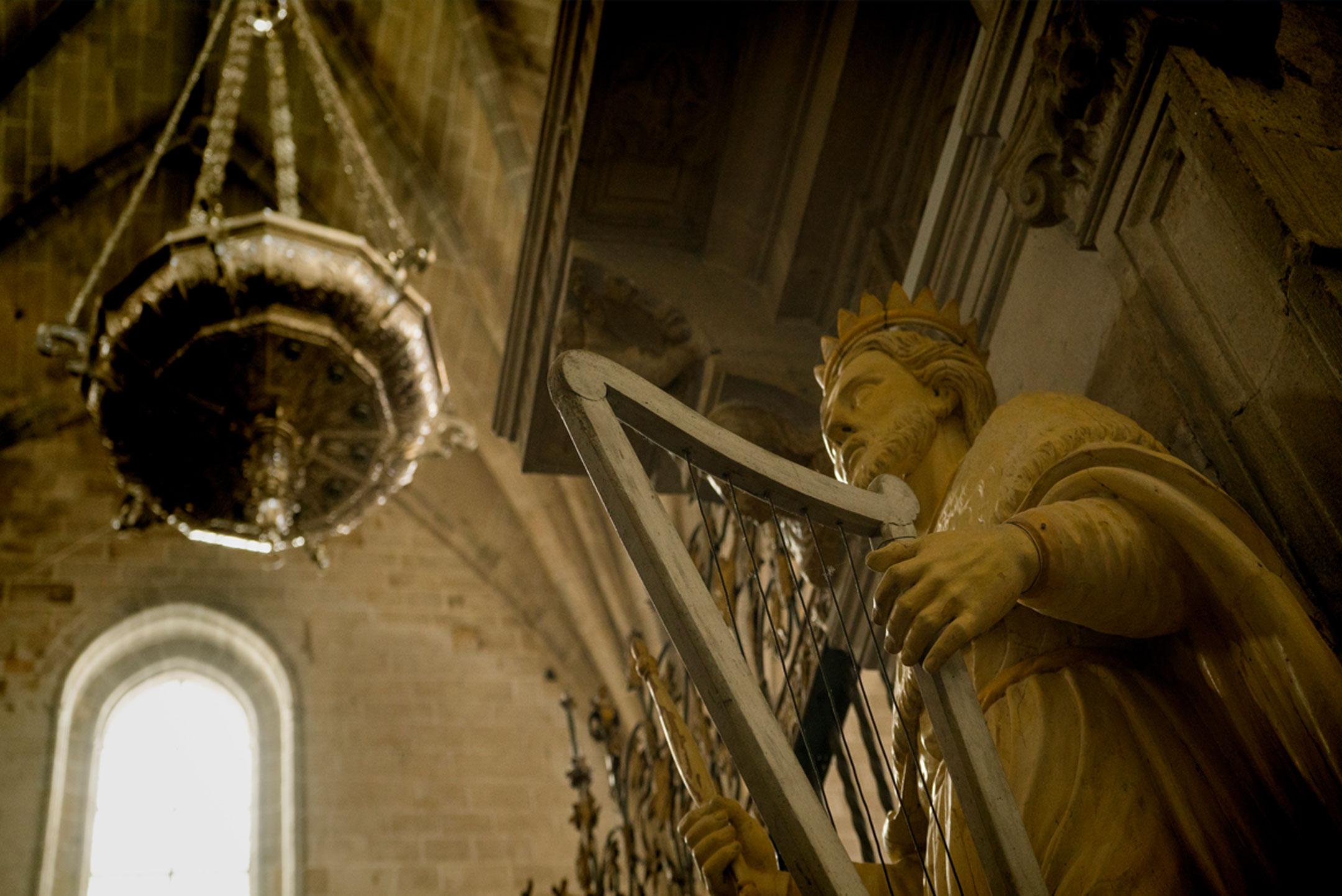 Escultura rei david