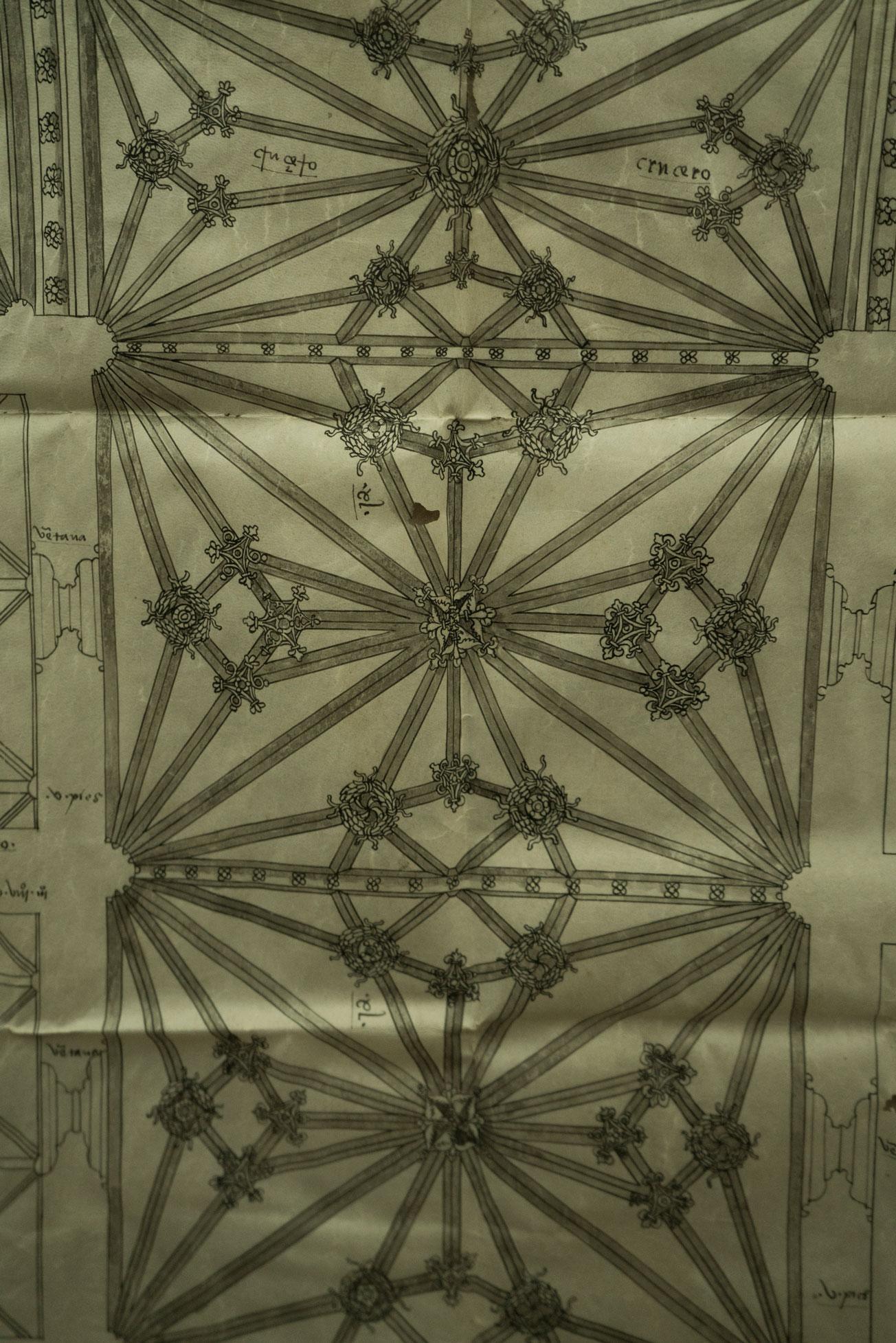 Cathedral original plans