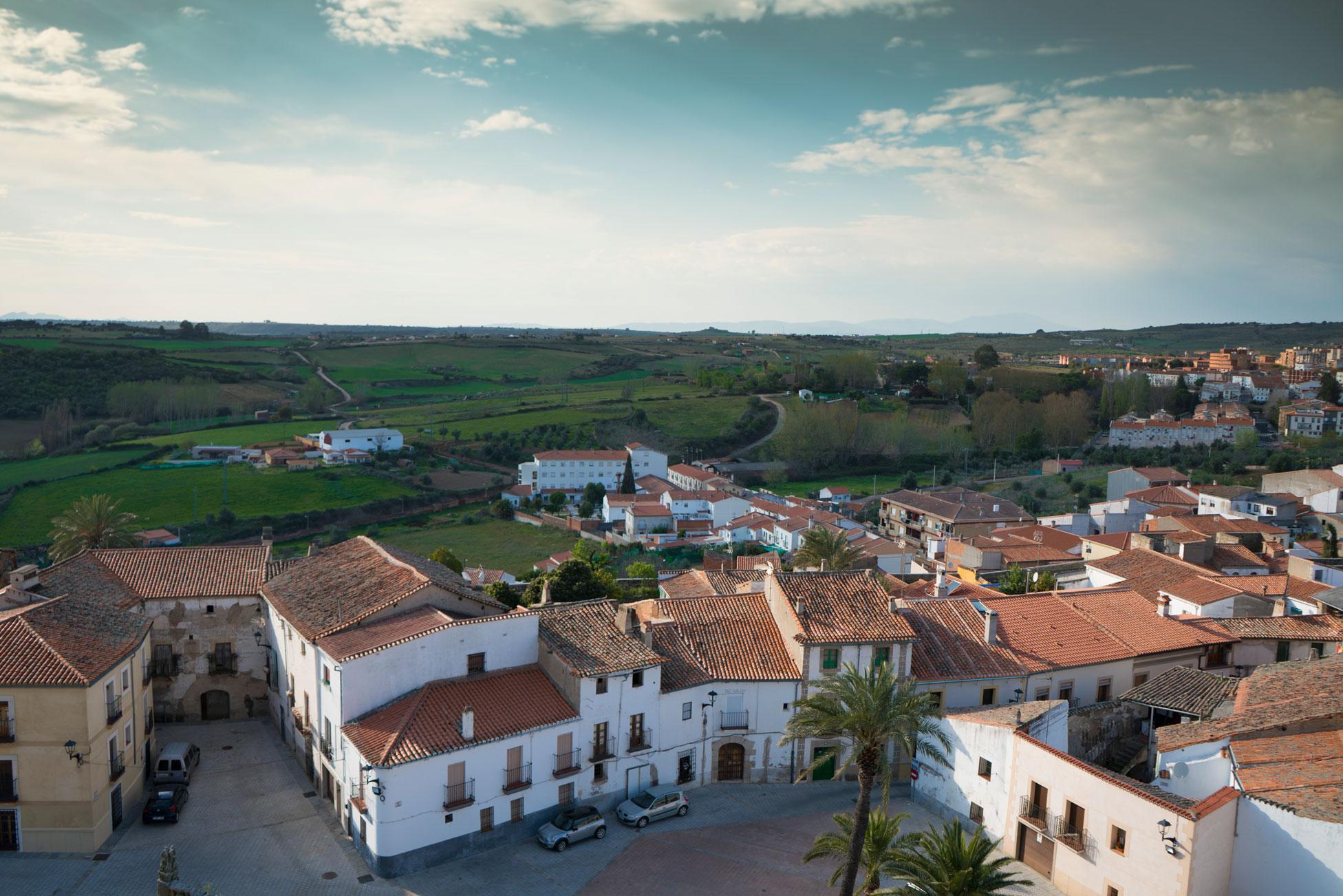 Vista da cidade antiga